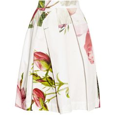 Vivienne Westwood Anglomania Liberty floral-print cotton skirt ($520) ❤ liked on Polyvore