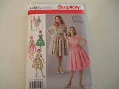 Simplicity Pattern 1459 size 1624 Uncut by KalimahsKreationsLLC
