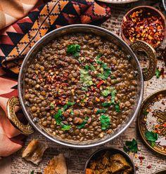 Easy Indian Recipes, Vegan Recipes Easy, Cooking Recipes, Vegetarian Cooking, Quick Recipes, Red Split Lentils, Brown Lentils, Sweet Potato Smoothie, Sweet Potato Soup