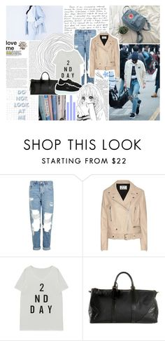 """bobts - round three; airport fashion"" by enola-pycroft ❤ liked on Polyvore featuring GET LOST, Topshop, Acne Studios, Chanel, Puma, Katie and Plane"