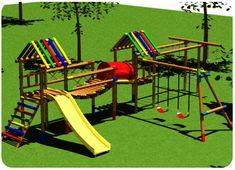 juegos infantiles de madera para jardin - Buscar con Google
