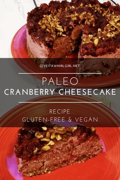 Paleo Cranberry Chee