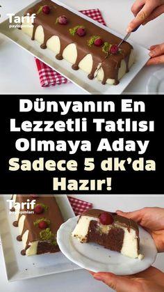 Turkish Recipes, No Bake Cake, Waffles, Recipies, Pudding, Food And Drink, Cooking Recipes, Sweets, Baking