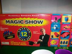 #Marshall brodien #magic show 12 #amazing tricks set plus 2 four trick sets, View more on the LINK: http://www.zeppy.io/product/gb/2/232009702724/
