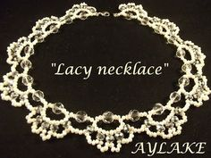 "How to do ""Lacy Necklace"" - YouTube"