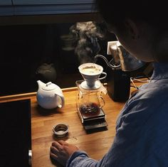 A new coffee pro is born. Beans roasted by hasbean, powered by trink_jb. welovecoffee thirdwavewichteln specialtycoffee