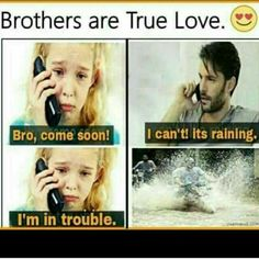 Tag-mention-share with your Brother and Sister 💙💚💛👍 Brother Sister Relationship Quotes, Bro And Sis Quotes, Brother Sister Love Quotes, Sister Quotes Funny, Brother And Sister Love, Crazy Girl Quotes, Dad Quotes, Daughter Quotes, Funny Quotes