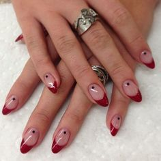 Holiday Stiletto nails – Care – Skin care , beauty ideas and skin care tips Teal Nails, Aycrlic Nails, Funky Nails, Stiletto Nails, Hair And Nails, Red Tip Nails, Minimalist Nails, Nail Swag, Stars Nails