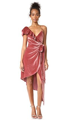 Devore Wrap Dress