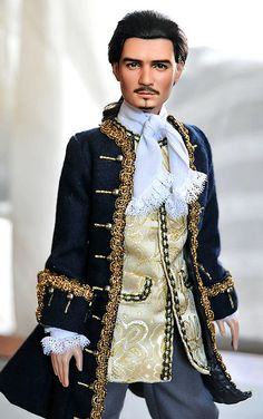 """Orlando Bloom as Will Turner groom in """"Pirates of the Caribbean""""."""