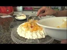 البافلوفا , المارينج , غاده التلي ,pavlova, meringue , ghada el tally
