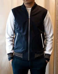Reigning Champ - Heavy Weight Terry Varsity Jacket
