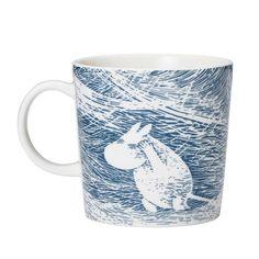 "Moomin ""Snow Blizzard"" Winter Mug 2020 - Arabia – The Official Moomin Shop Moomin Shop, Moomin Mugs, Snow Blizzard, Moomin Valley, Tove Jansson, Original Artwork, Seasons, Ceramics, Mini"