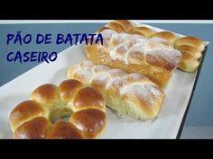 Como fazer Pão de batata bem fofinho (por Fernando Couto) - YouTube