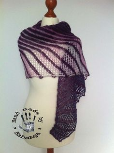 Ravelry: BabaAga's Nympha in violet