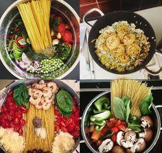 One-pot pasta - mode opératoire, idées à l'infini #vegan