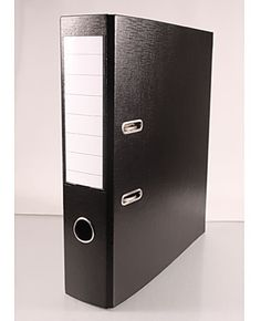Office Plus - Musta mappi