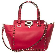 Valentino Rockstud Pink Mini Tote * You can find out more details at the link of the image.Note:It is affiliate link to Amazon.