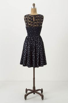 Melora Dress by Moulinette Soeurs via Anthropologie     Loving the back!