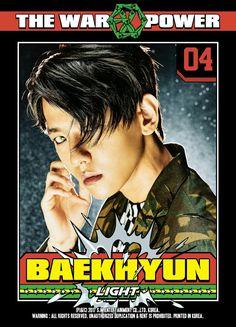 05/09/17 Digital Booklet do iTunes 'THE WAR : THE POWER OF MUSIC' - Baekhyun