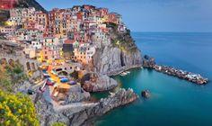Liguria mare Manarola