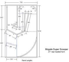 Speakerplans.com Subwoofer Box Design, Speaker Plans, Horn Speakers, Speaker Design, How To Plan, Bluetooth, Box Design, Woodworking, Crates
