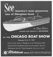 Whitehouse Boats 1957 Ad Picture