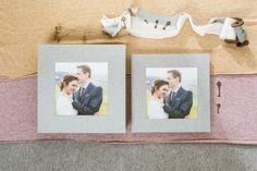 Hochzeitsalbum mit Acryl-Bildfenster - Erinnerungen fürs Herz Digital Foto, Album Cover, Polaroid Film, Frame, Box, Pictures, Gray Fabric, Photograph Album, Memories