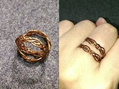 Celtic knot ring - How to make wire jewelery 228