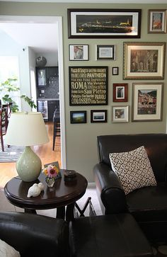looking for gallery wall ideas...