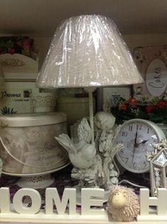 Shabby vintage lampshade