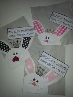 Conejos de pascua Tarjetas Pop Up, Easter Crafts, Container, Ideas, Easter Bunny, Paper Crafts, Rabbits, Activities, Presents