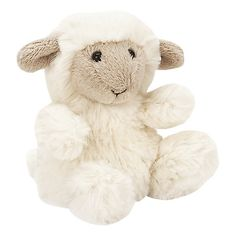 Jellycat Poppet Sheep Tiny - £7.50 A yummy jumble of cream and cappuccino, Poppet Sheep is the sweetest sheep we know. With his dreamy fleece and soft little hooves, it's not hard to see why he gets so many tickles! He loves to go exploring on the hillside with his mummy, and snaffle buttercups for his tummy!