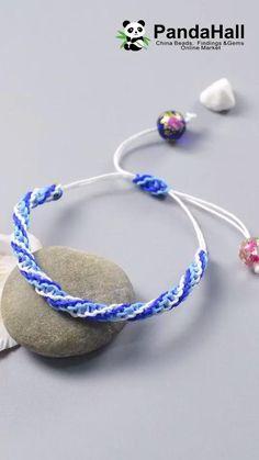 Diy Bracelets Video, Braided Bracelets, Making Bracelets, Macrame Bracelet Patterns, Bracelet Designs, Chevron Bracelet, Macrame Bracelets, Diy Bracelets Crochet, Macrame Knots