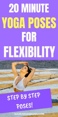 My 20 Minutes Beginner Yoga Poses for Flexibility, Beginner Yoga for flexibility & Beginner Yoga workout for flexibility. So if you want Yoga for flexibility & yoga poses for flexibility check out our step by step article. Increase Flexibility, Yoga For Flexibility, Beginner Yoga Workout, Workout For Beginners, Lose Fat Workout, Lose Fat Fast, Yoga Poses For Beginners, Morning Yoga, Yoga For Weight Loss