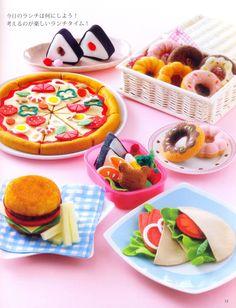 Ultimate Play Food Japanese craft book by MeMeCraftwork on Etsy