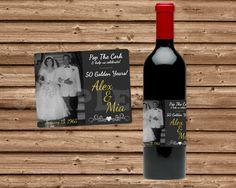 50th Wedding Anniversary  50th Anniversary by PartyPrintExpress