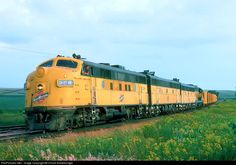 RailPictures.Net Photo: CNW 208 Chicago & North Western Railroad EMD F3(A) at Waseca, Minnesota by Chuck Schwesinger