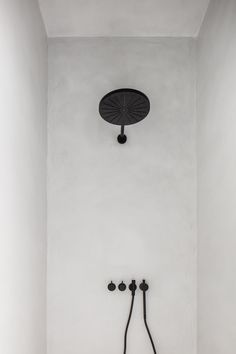 Shower in beton ciré finish and VOLA taps - Lilly is Love Apartment Plants, Apartment Entryway, Dream Bathrooms, Small Bathroom, Luxury Bathrooms, White Bathrooms, Master Bathrooms, Bad Inspiration, Bathroom Inspiration