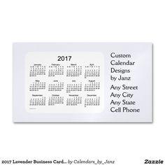 2017 steel blue business calendar by janz magnet magnetic business 2017 lavender business card calendar by janz colourmoves