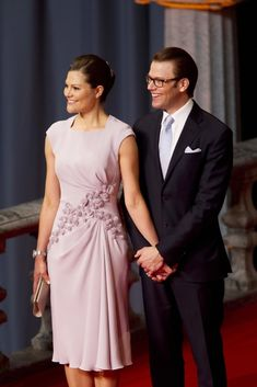 Crown Princess Victoria of Sweden arrives at her wedding reception hosted at Stockholm City Hall ahead of her Saturday wedding to Mr Daniel Westling. (June 18, 2010 - Source: PacificCoastNews.com)