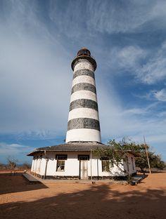 Baixo do Pinda Lighthouse (Peninsula in Northern Mozambique+ by Stig Nygaard)