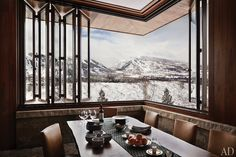 Bring the outdoors inside - mountains, desert, seaside - love the window