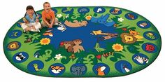 Circletime Garden of Eden x Oval Rug is a colorful faith based rug from Carpets for Kids for Sunday school and religious preschool classrooms. Coordinating accent rugs also available. Toddler Sunday School, Sunday School Classroom, Garden Of Eden, Garden Theme, Carpets For Kids, Kids Rugs, Children Of Eden, Where To Buy Carpet, Oval Rugs
