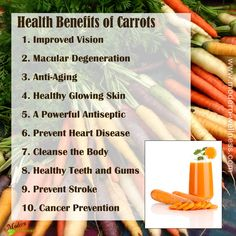 One of our favorite ingredients. A powerhouse of nutrition. Try our Carrot Ginger with Coconut for a heavy dose of Viatmin A and all the other health benefits of carrots. Carrot Juice Benefits, Health Benefits Of Carrots, Juicing Benefits, Juicing For Health, Health And Nutrition, Health And Wellness, Health Care, Simply Health, Health Facts