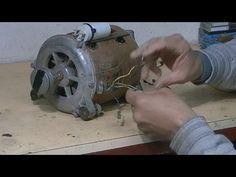 Como identificar y conectar un motor de lavadora o lavarropas de 6 cables sin ninguna identificacion y sin ningun instrumental de medicion (multimetro). Form...