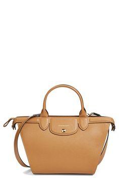 81001e78fe Free shipping and returns on Longchamp 'Medium Le Pliage - Heritage'  Leather Satchel at