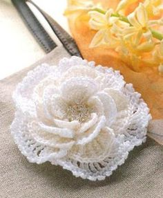 DIY Crochet Flowers : DIY Crochet flower: more patterns and diagrams