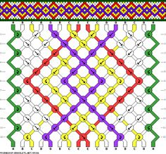 Learn to make your own colorful bracelets of threads or yarn. Friendship Bracelet Patterns, Friendship Bracelets, Macrame Design, Colorful Bracelets, Knots, Weaving, Kids Rugs, Quilts, Loom