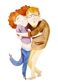 """Cambridge hug"", by Sandra Ortuño."